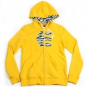 [etnies girls] ICON FILL BASIC GIRLS ZIP HOOD (Yellow)