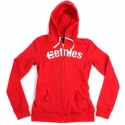 에트니스(Etnies) [etnies girls] CORPORATE GIRLS ZIP HOOD (Ruby)