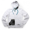 에트니스(Etnies) [etnies girls] ABSTRACT SEW ROCK COLLECTION GRILS ZIP HOOD (White)