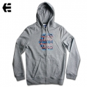 [Etnies] ICON FILL ZIP HOOD (Grey/Heather)