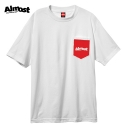올모스트(ALMOST) [Almost] POCKET PRINT S/S (WHITE)