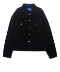 레이블디렉터(LABEL DIRECTOR) Over Trucker Jacket(Black)