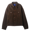 레이블디렉터(LABEL DIRECTOR) Over Trucker Jacket (khaki)