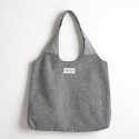 옐로우스톤(YELLOWSTONE) [옐로우스톤] HERRINGBONE ROUND SHOPPER BAG - YS2031GR 그레이