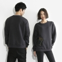 지퍼즈(ZIPPERZ) CHARCOAL SWEATSHIRT (MIX 01)