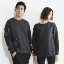 지퍼즈(ZIPPERZ) CHARCOAL SWEATSHIRT (MIX 03)
