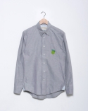 프랭크 도미닉(FRANK DOMINIC) UNAPPLE SHIRT(OLIVE GREEN)