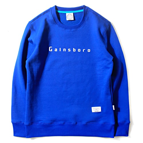 게인스보로_LOGO SWEAT SHIRT_BLUE