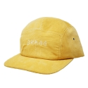 BRAGG CORDUROY 5 PANNEL CAMP CAP [LIGHT YELLOW]