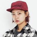 DENIM COLOR CAPMCAP (RED)