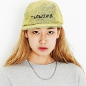 DENIM COLOR CAPMCAP (YELLOW)