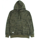 언커먼 팩터스(UNCOMMON FACTORS) CAMO PULLOVER HOODED SWEATSHIRT