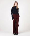 [MOHAN] INSIDE VENTED TROUSERS BURGUNDY