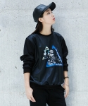 에인트크랙(Ain't crack) GRAPHIC SWEATSHIRTS PART2-CITY WOMEN