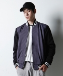 에인트크랙(Ain't crack) HOUND TOOTH CHECK BLOUSON-NAVY