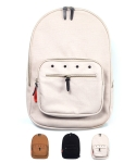 GRIMSTAD Daily BACKPACK GB210 CANVES [TAN/BLACK/IVORY]