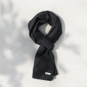 모노노(MONONO) Herringbone Black_Basic Scarf