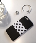 Polka Dot Black IPhone 6 PLUS