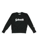 쇼트 뉴욕(Schott NYC) [SCHOTT N.Y.C.] 쇼트뉴욕 SCHOTT NYC LOGO SWEAT SHIRT (2color)