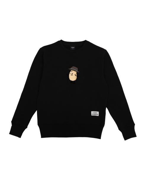 더 캔버스_Eggman pixel ver. Sweatshirts(Black)