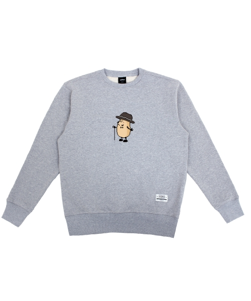 더 캔버스_Eggman pixel ver. Sweatshirts(Gray)