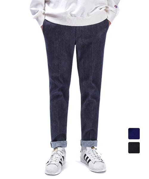 어커버_Denim Two Pocket Banding Pants
