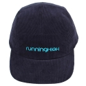 러닝하이(RUNNING HIGH) CORDUROY CAMP CAP [NAVY]