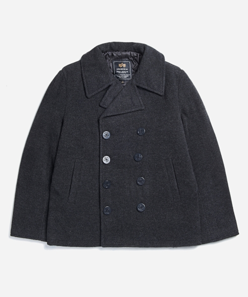 알파인더스트리_USN Pea Coat Grey