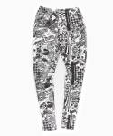 언티지() UTP-FL02 untage signature leggings[white(UNISEX)]