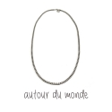 오뜨르 뒤 몽드(AUTOUR DU MONDE) UNISEX CHAIN NECKLACE