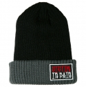 VICTIM IN PAIN BEANIE(GRAY/BLACK)
