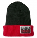 VICTIM IN PAIN BEANIE(RED/BLACK)