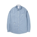 캉골(KANGOL) NJC OXFORD SHIRTS 6102 BLUE