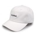 비블랙(BEBLACK) OLD SCHOOL BALLCAP WHITE