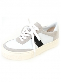 슈보니에타(SHOBONYATA) SIMPLE LINE MORDERN SHEEPSKIN SNEAKERS_S3003