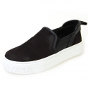 슈보니에타(SHOBONYATA) BASIC SUEDE SIMPLE SHEEPSKIN COUPLE SLIPON SNEAKERS_S3004