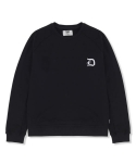 NOHOOD CREWNECK SWEATSHIRTS - BLACK