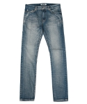 콰이트(QUITE) [콰이트] Brushed Light Denim Pants