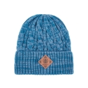 OFFICER MELANGE Beanie (Blue)