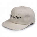 비블랙(BEBLACK) LOVE AND HATE 6 PANEL BEIGE