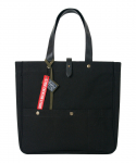 envelop tote/cross-black
