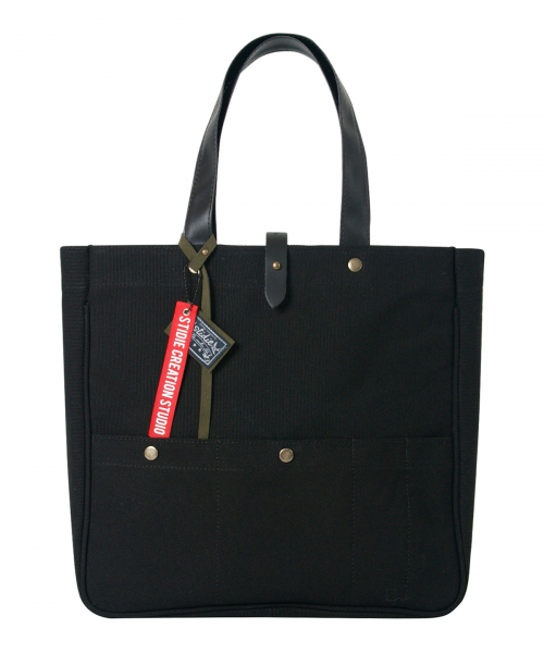 스티디(STIDIE) envelop tote/cross-black