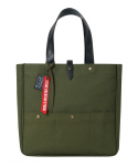 스티디() envelop tote/cross-khaki