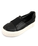 MODERN ITARLY BAND SHEEPSKIN SLIPON SNEAKERS_S3013