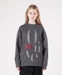 모한(MOHAN) [MOHAN] MOTIVE SWEATSHIRT CHARCOAL