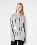 모한(MOHAN) [MOHAN] MOTIVE SWEATSHIRT GREY