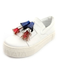 슈보니에타(SHOBONYATA) UNIQUE TASSEL SHEEPSKIN COUPLES SLIPON DAILY SNEAKERS_S3027