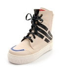 슈보니에타(SHOBONYATA) TAEGEUKGI MOTIVE SHEEPSKIN HIGH TOP SNEAKERS_HS4007