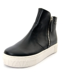 슈보니에타(SHOBONYATA) SLIM LINE ZIPPER POINT SHEEPSKIN HIGH TOP SNEAKERS_HS3008