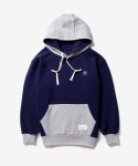 디폴트(DEFAULT) default embroider hood navy